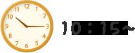 10:15 自由